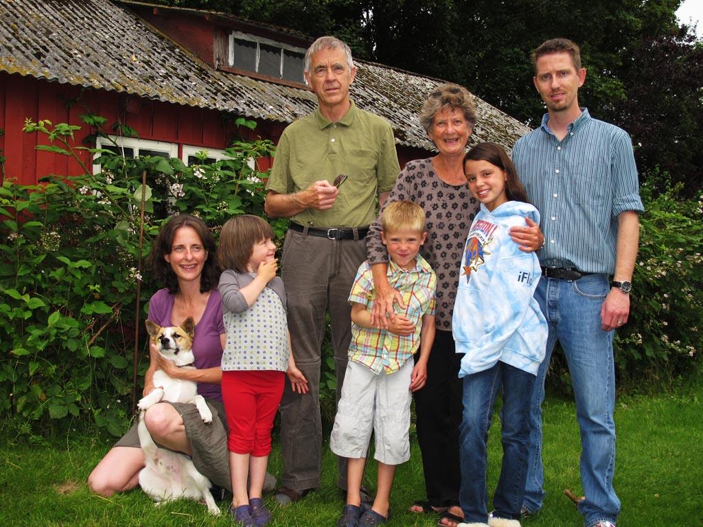 Morten og lara i danmark juli 2011
